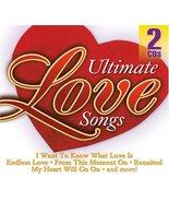 Ultimate Love Songs [Audio CD] Various Artists - $9.26