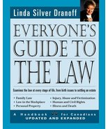 Everyone's guide to the law: A handbook for Canadians [Paperback] Dranof... - $29.39