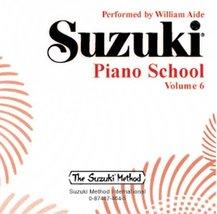 Suzuki Piano School, Vol 6 Aide, William - $9.79