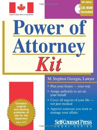 Power of Attorney Kit [Paperback] Georgas, M. Stephen