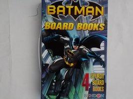 Batman Board Books 4-Pack [Board book] [Jan 01, 2012] DC Comics - $48.99