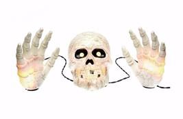 Halloween Skull with Hands Groundbreaker Lights... - $17.59