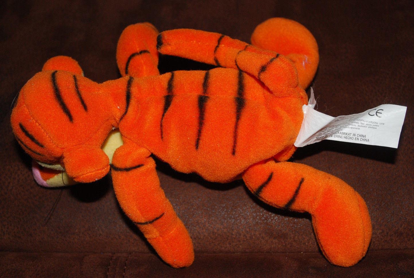 "Winnie the Pooh Tigger Beanie Plush Toy Walt Disney Stuffed Animal 10"""