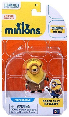 Despicable Me Minions Movie Bored Silly Stuart
