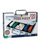 200 pc Poker Set In Aluminum Case - $19.59