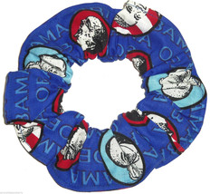 President Obama Faces Fabric Hair Scrunchie Scrunchies by Sherry Ponytail  - $6.99