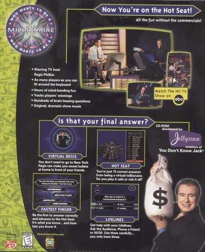 Who Wants to Be a Millionaire - PC [video game]