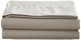 Sferra Elyse Taupe Queen Sheet Set 4 PC 100% Egyptian Cotton Solid Italy... - $273.00