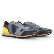 p Camouflage US taille VALENTINO 75359 marqué Gris 5 Baskets 12 NEUF 5 45 OxwnqHOrC