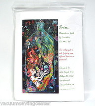 Sirene Mermaid in a Bottle Collage Quilt Pattern - $41.95