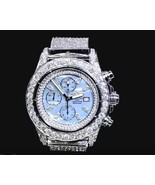 16 carats iced out CUSTOM diamond breitling men... - $12,721.50