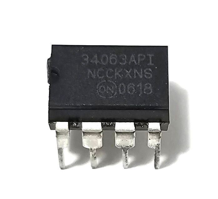 5 x ON Semiconductor MC34063A MC34063 Free Shipping - New/Authentic - USA Seller