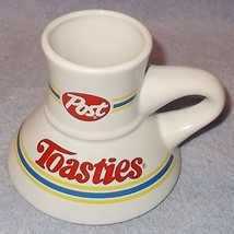 Vintage Advertising Post Toosties Cereal Coffee No Spill Ceramic Mug  - $7.00