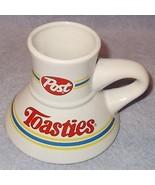 Vintage Advertising Post Toosties Cereal Coffee No Spill Ceramic Mug  - $6.95
