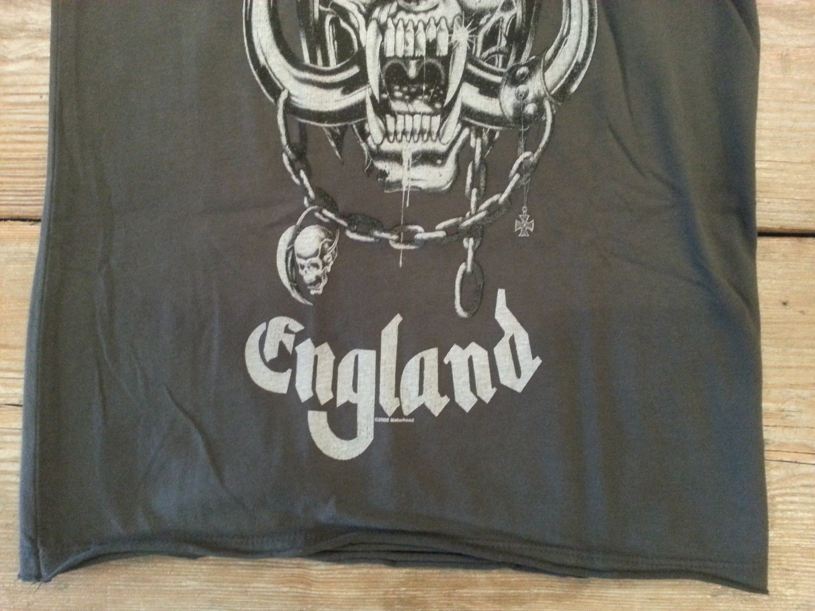 Amplified Motorhead Womens T Shirt  Vintage Washed  XS, S, M, L