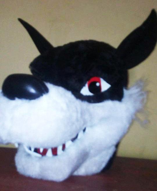 Wolf Head Animal Adult Costume Head