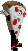 Pizza Slice Mascot Costume Adult Character Costume For Sale - $345.00