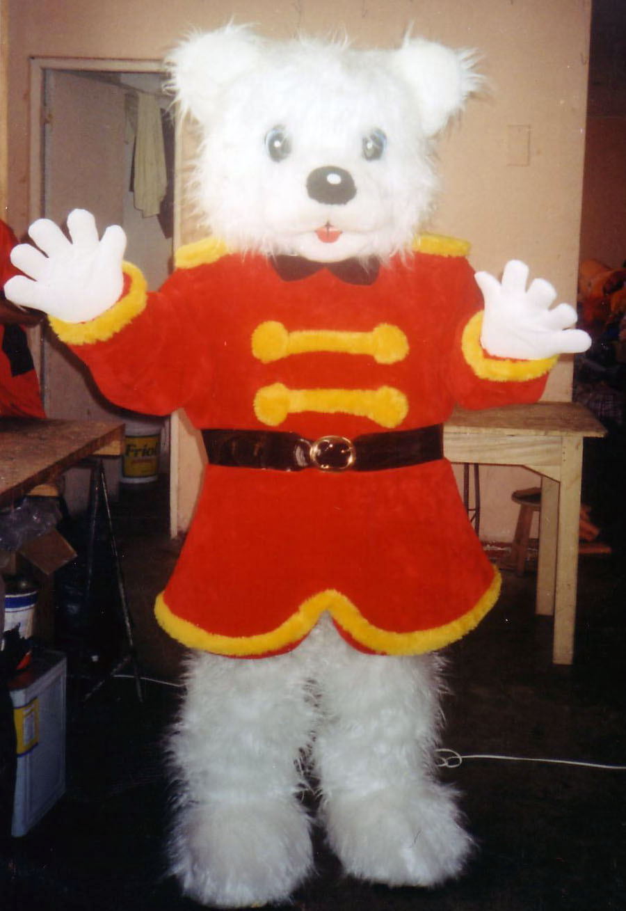 Christmas Bear Mascot Costume Adult Costume For Sale