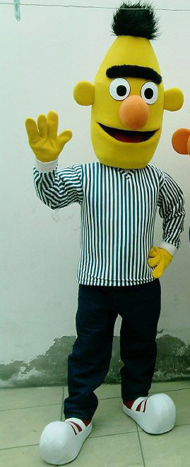 Bert Mascot Costume Adult Bert Costume For Sale