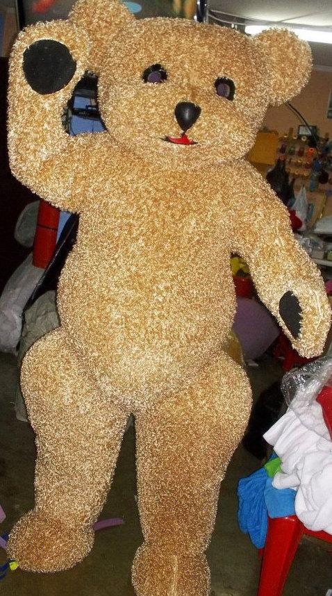 Teddy Bear Mascot Costume Adult Costume For Sale