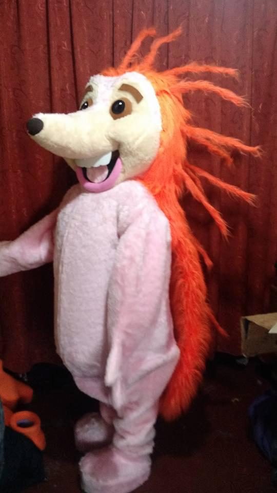 Porcupine Mascot Costume Adult Costume For Sale