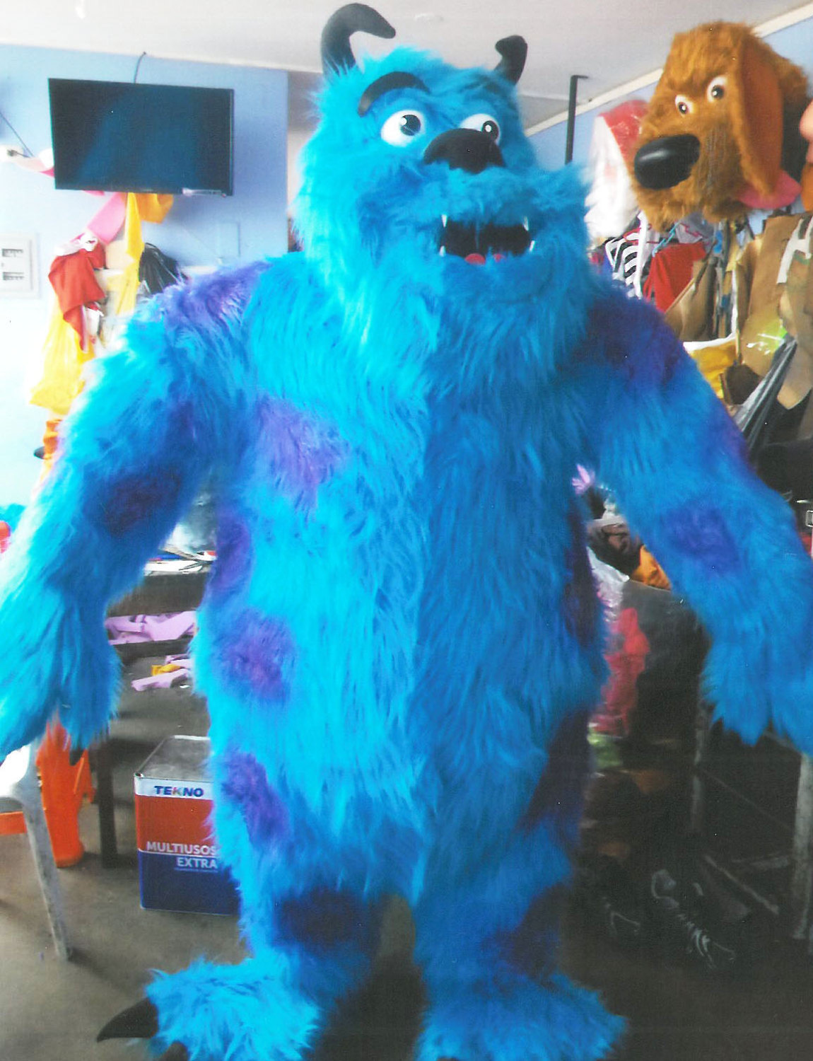 Monsters Inc Sully Mascot Costume Adult Costume For Sale