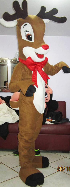 Reindeer Mascot Costume Adult Costume For Sale