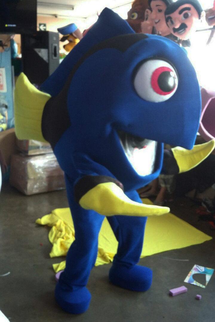 Dory Mascot Costume Adult Costume For Sale
