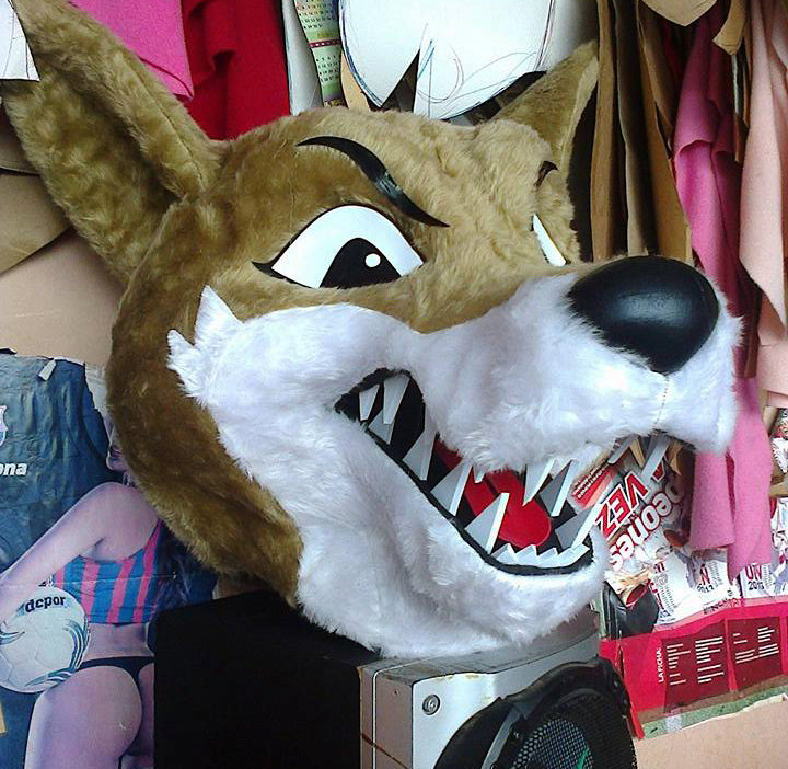 Coyote Costume Head For Sale