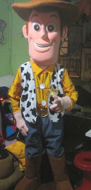 Woody Mascot Costume Adult Costume For Sale