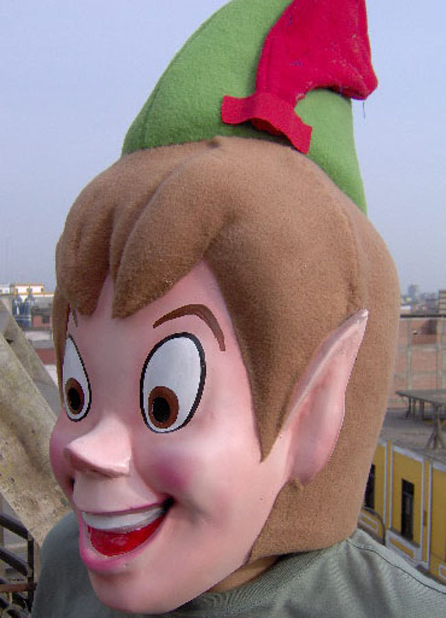 Peter Pan Costume Head Adult size For Sale