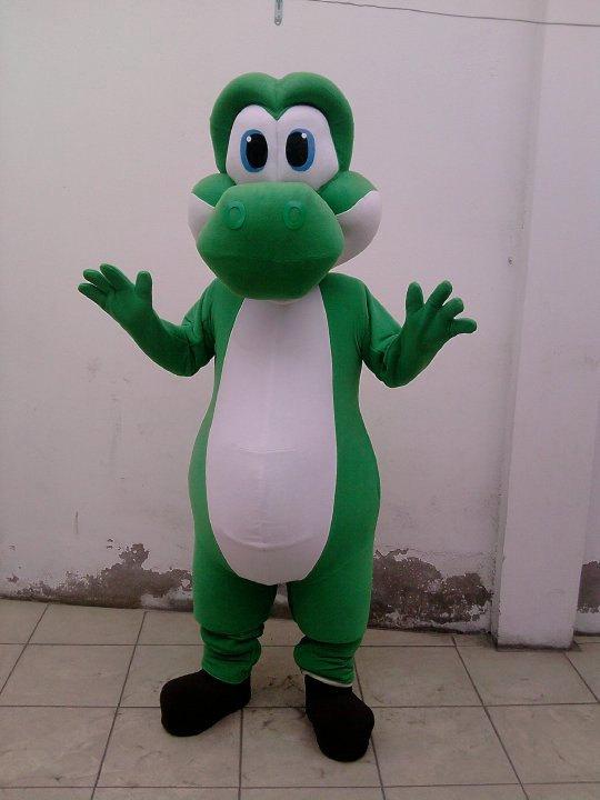 Yoshi Mascot Costume Adult Costume