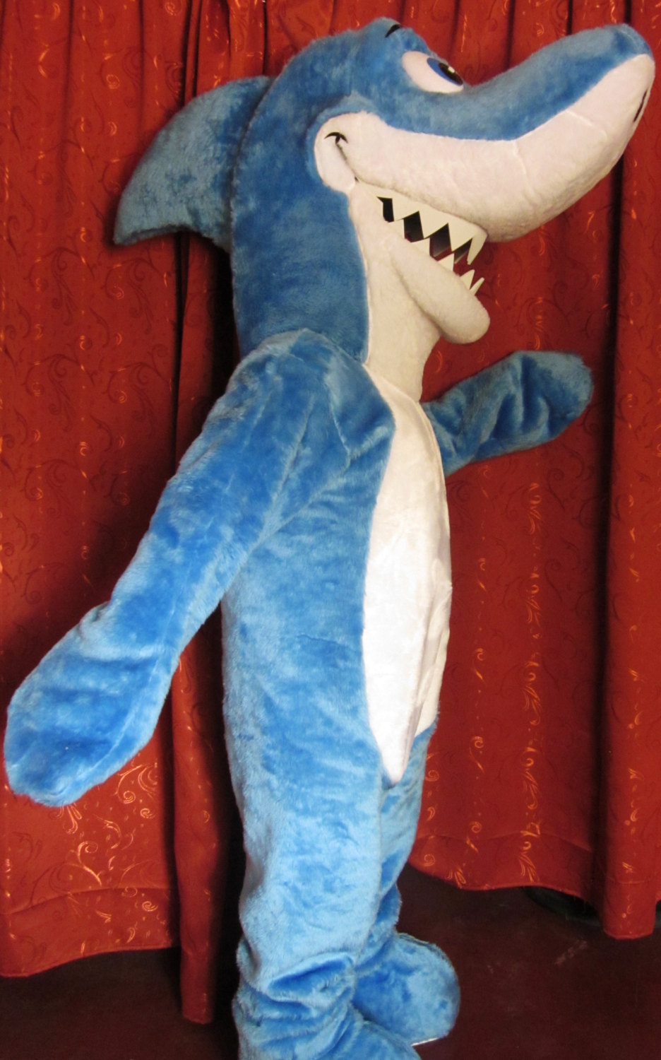 Shark Mascot Costume Adult Costume For Sale