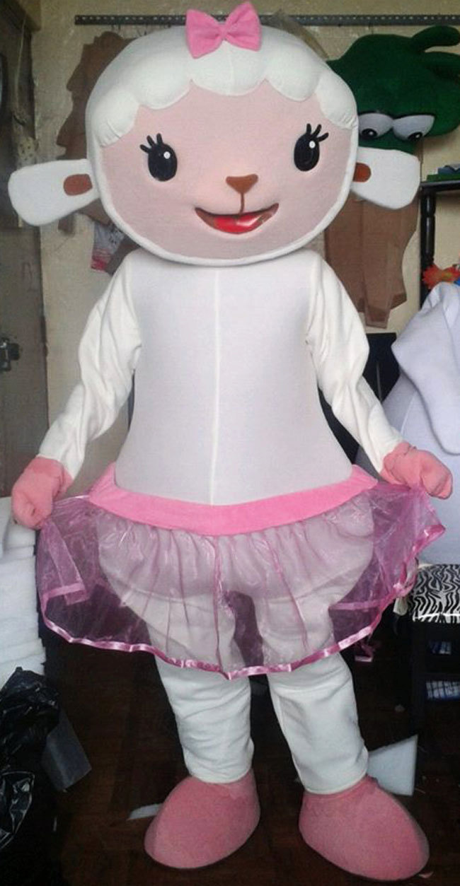 Lambie Mascot Costume Adult Costume For Sale