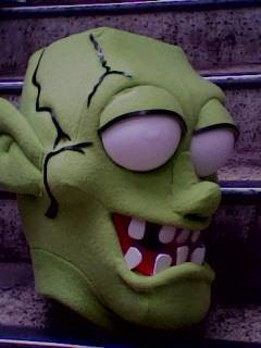 Zombie Costume Head Adult size
