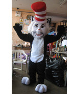 Cat in the Hat Mascot Costume Adult Costume For Sale - $299.00