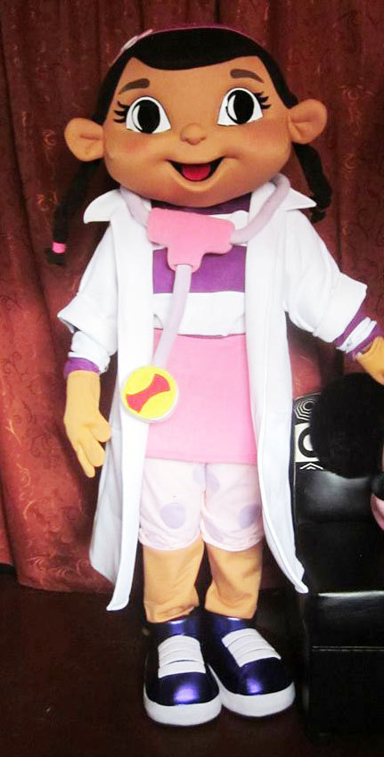 Doc Mcstuffins Mascot Costume Adult Costume For Sale