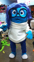 Inside Out Sadness Mascot Costume Adult Character Costume - $299.00