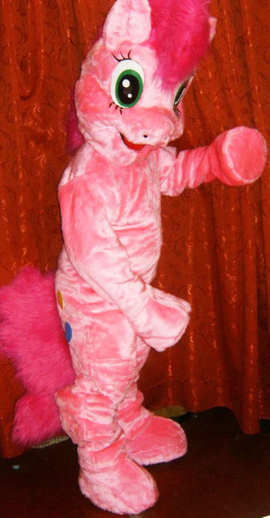 Pony Mascot Costume Adult Costume For Sale