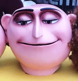 Despicable Me Gru Costume Head For Sale
