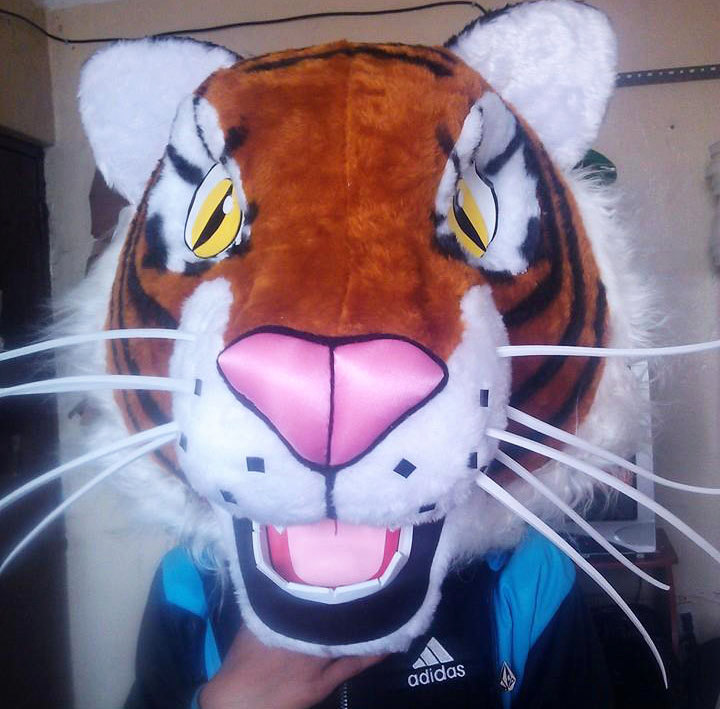 Tiger Mascot Costume Adult Costume For Sale