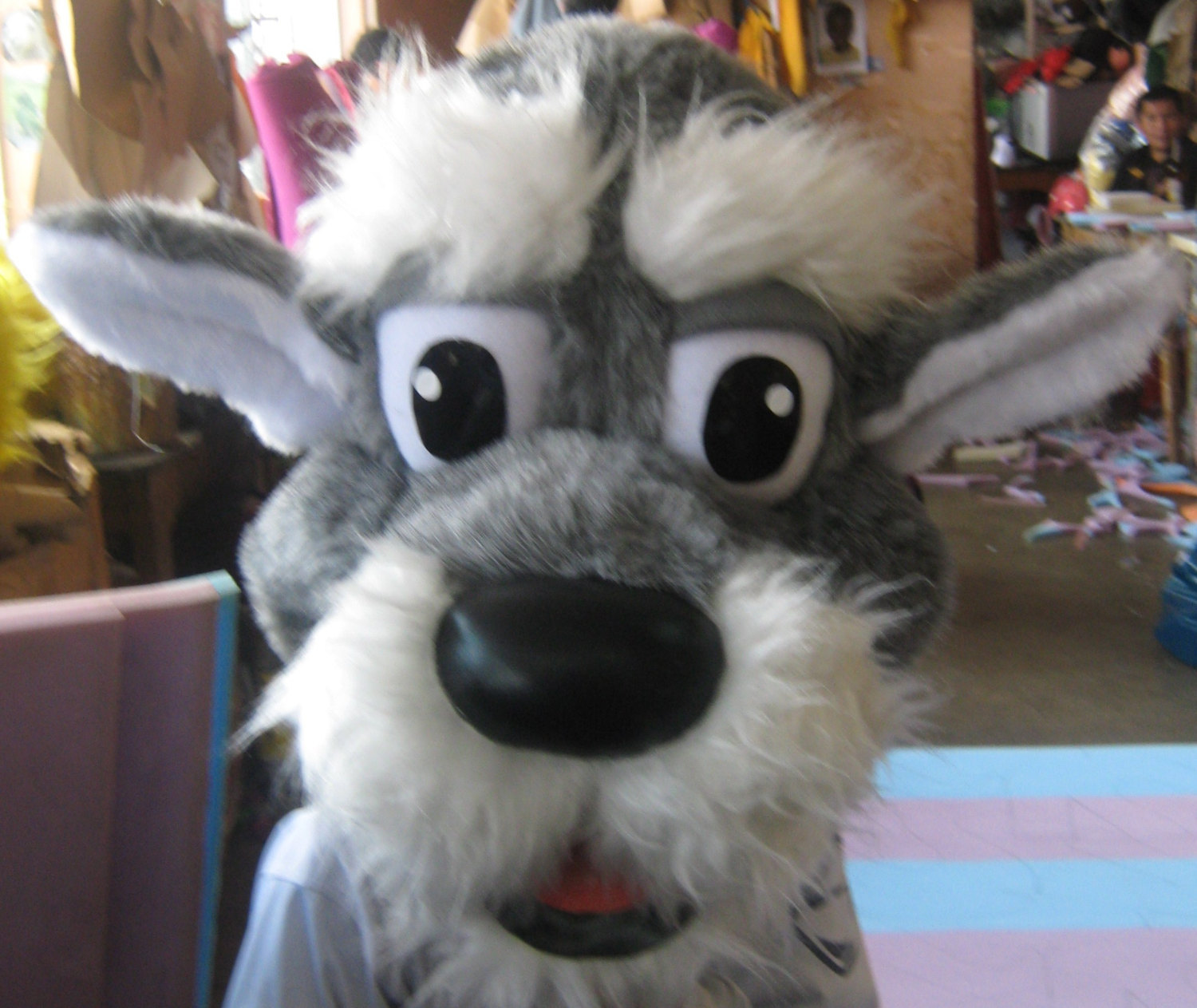 Terrier Dog Mascot Costume Adult Costume For Sale