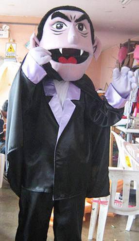 Count Dracula Mascot Costume Adult Costume