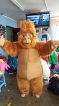 Brown Gorilla Mascot Costume Adult Costume - $375.00