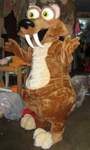 Scrat Ice Age Mascot Costume Adult Costume For Sale - $325.00