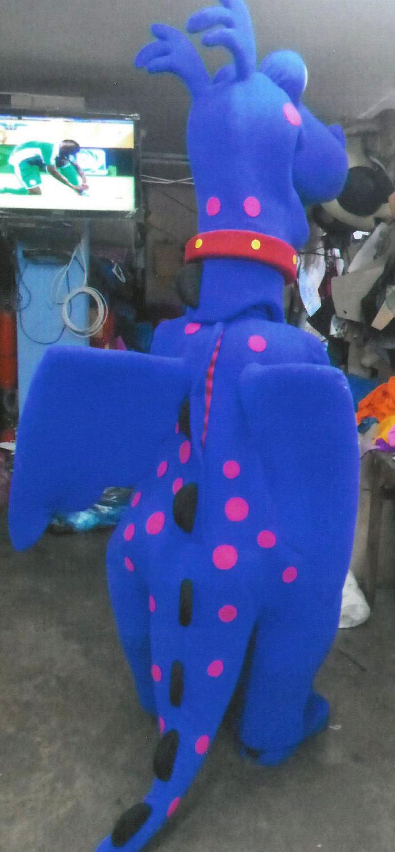 Dragon Stuffy Mascot Costume Adult Costume