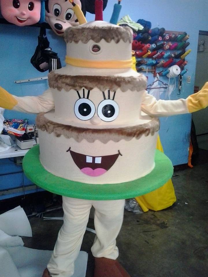 Cake Mascot Costume Adult Cake Costume For Sale
