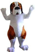 Saint Bernard Dog Mascot Costume Adult Character Costume - $299.00