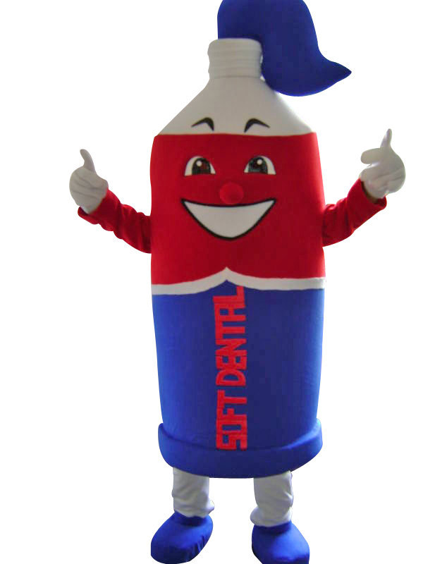 Toothpaste Mascot Costume Adult Character Costume For Sale