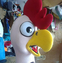 Chicken Mascot Costume Head ONLY STD Adult size - $160.00